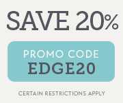 Save with promo code EDGE20